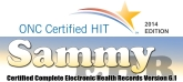 ONC Certified HIT Sammy EHR Complete Electronic Health Records Version 6.1